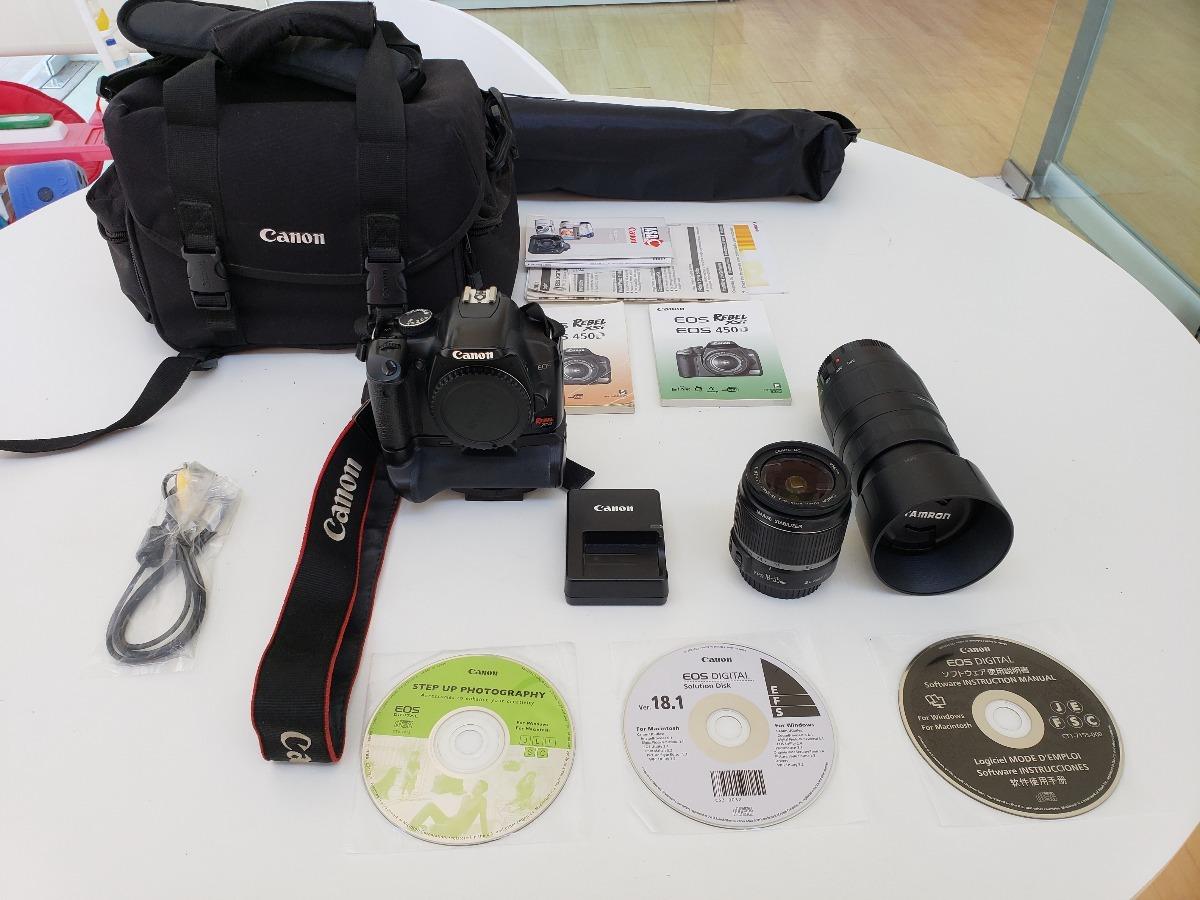 Cámara Reflex: Canon Eos Rebel Xsi (eos 450d) - $ 6,750 00