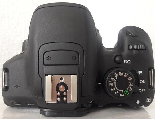 camara reflex canon t5i / lente 18-55mm / 55-250mm / estuche