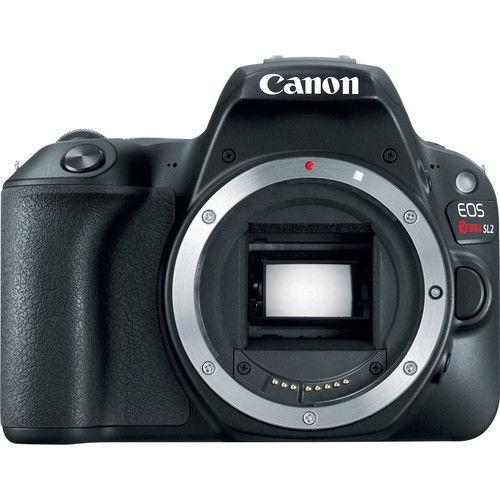 cámara réflex digital canon eos rebelde sl2 ( negro , solo