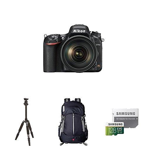 cámara réflex digital nikon d750 con formato fx con paquete