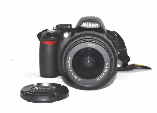 cámara reflex nikon d3100 seminueva + mochila + sd 16gb