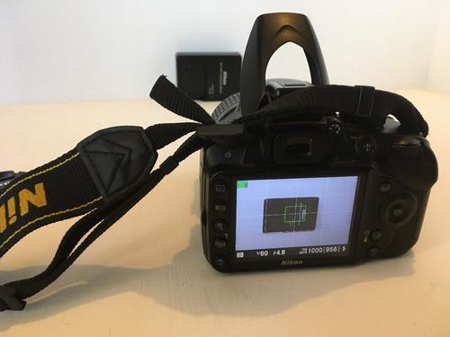 cámara réflex nikon d3200 kit de lente 18-55mm vr negro