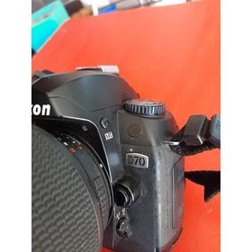 Cámara Réflex Nikon D70 Con Lente De Regalo.