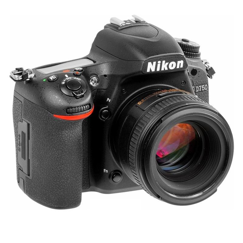 Camara Reflex Nikon D750 24mp Fhd + Lente 24-120mm - $ 75.819,00 en ...