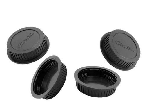 cámara reflex rebel t6 con 2 lentes 18-55 y 75-300 y mochila