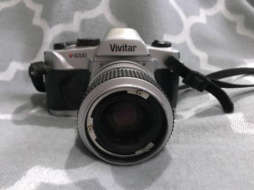 cámara réflex vivitar