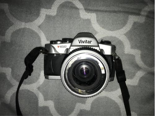 cámara réflex vivitar v4000