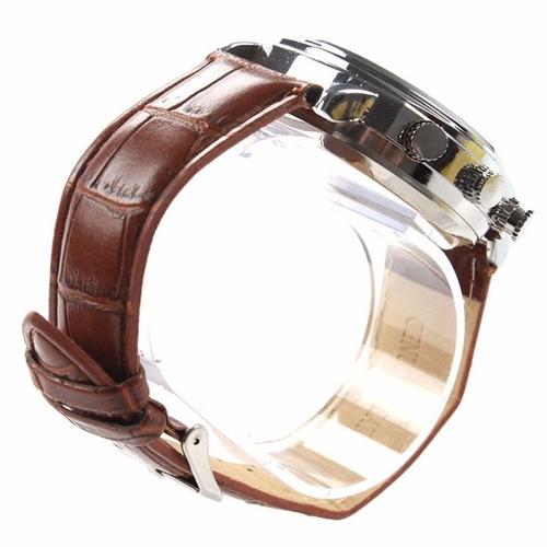 cámara reloj de vestir 8gb / micrófono / correa de piel