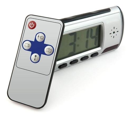 camara reloj espia micro sd deteccion movimiento + control