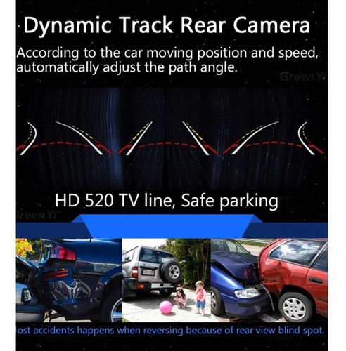 cámara retroceso trayectoria dinámica universal toyota