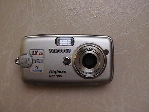 cámara samsung digimax u-ca 505