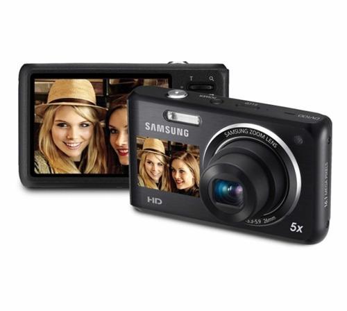 cámara samsung doble pantalla 16 mp dv101