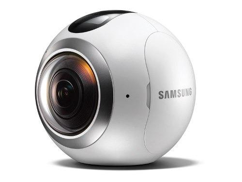 cámara samsung gear 360 blanca sm-c200nzwacho