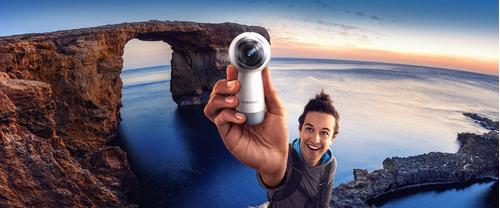 cámara samsung gear 360 vr versión 2017 4k entregainmediata