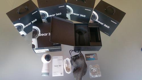 cámara samsung gear 360 vr versión 2017 4k nueva