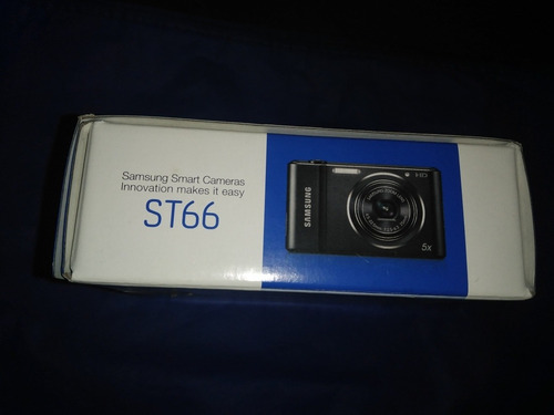 cámara samsung hd modelo st 66 casi nueva lista para usar