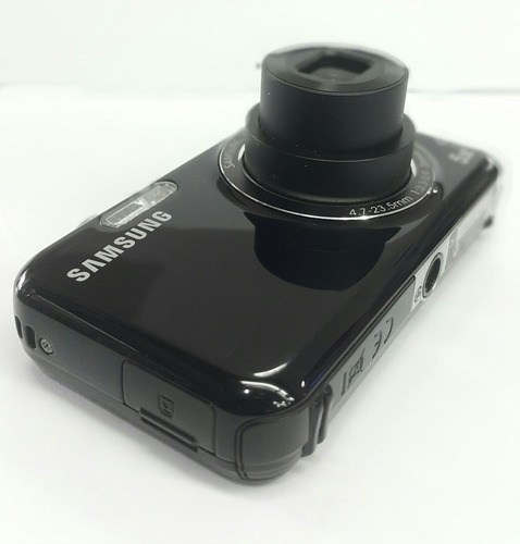 camara samsung pl120 5x zoom 14.2mp doble pantalla completa