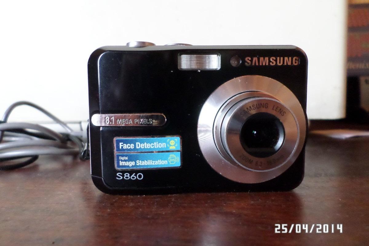 c mara samsung s860 8 1 megapixeles 900 00 en mercado libre rh articulo mercadolibre com ar Charger Samsung S860 Memory Card Samsung S860