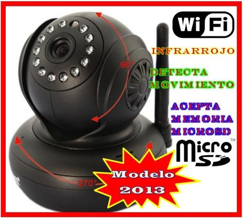camara seguridad audio