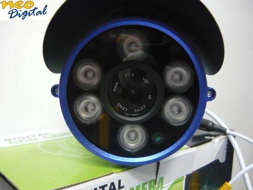 camara seguridad ccd cctv 1/3 sony tubo infrarrojo exterior