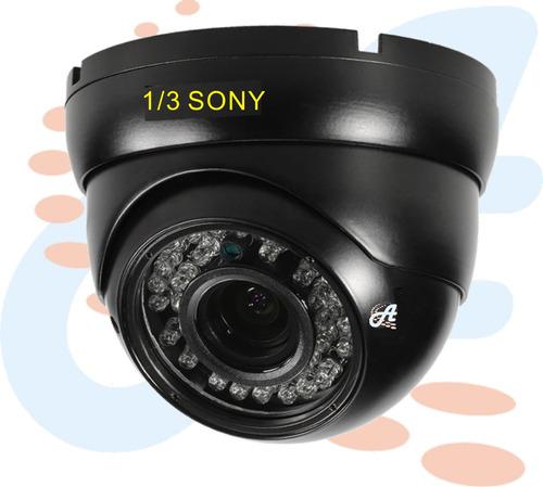 camara seguridad domo 1/3 chip sony 3.6mm-8mm 36 leds1000