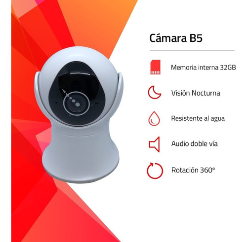 camara seguridad domo motorizado robotico exterior interior angulo vision 360° memoria 32gb seguimiento tiempo real