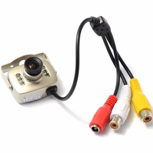 cámara seguridad espía audio