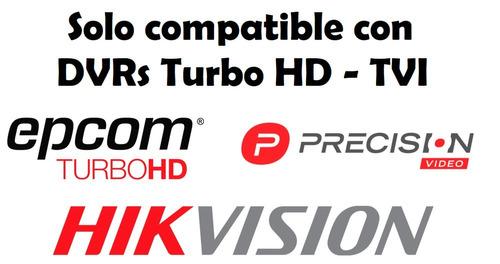 camara seguridad hikvision cctv turbohd 720p lente 3.6mm ir