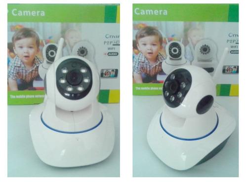 camara seguridad inalambrica ip wifi hd p2p infrarroja rj45