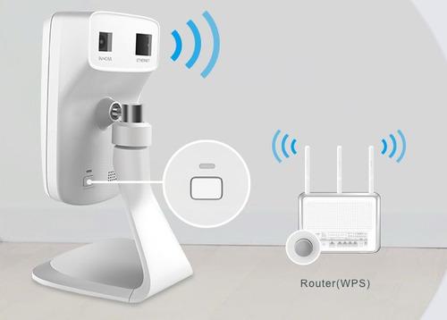 camara seguridad ip cloud tp-link nc220 wifi dia noche
