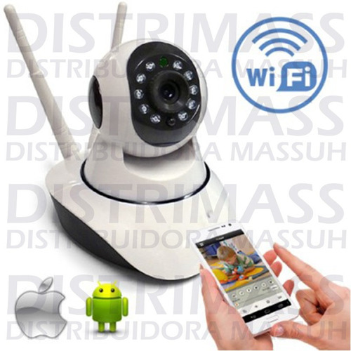 camara seguridad ip doble antena wifi hd inc iva y garantia