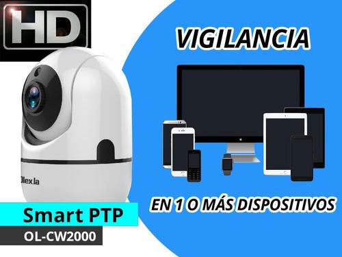 camara seguridad ip domo robotica wifi hd 1080 motorizada alerta por movimiento vision nocturna compatible android ios