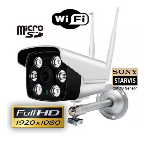 camara seguridad ip exterior wifi 1080p camhi nocturna hd