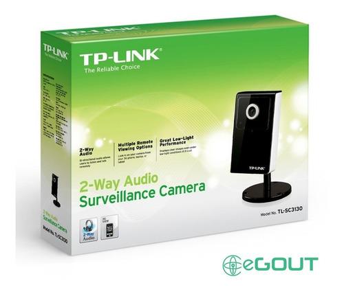 cámara seguridad ip vigilancia audio 2 vías tl-sc3130