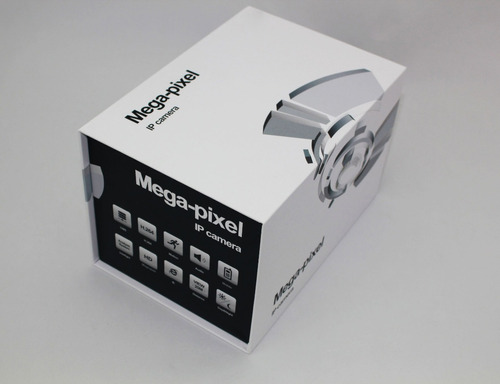 cámara seguridad profesional ip exterior bala robusta ips712