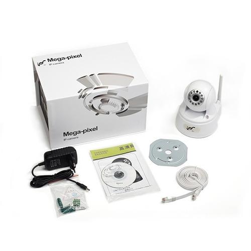 cámara seguridad red ip ips robotica wifi eye01w 2mpx- negra
