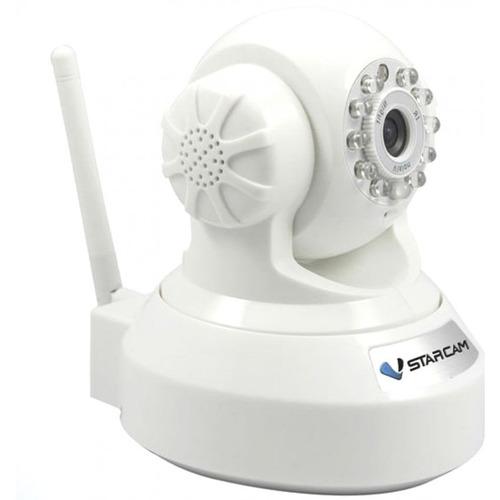 cámara seguridad red ip vstarcam robotica wifi h6837wi-blanc