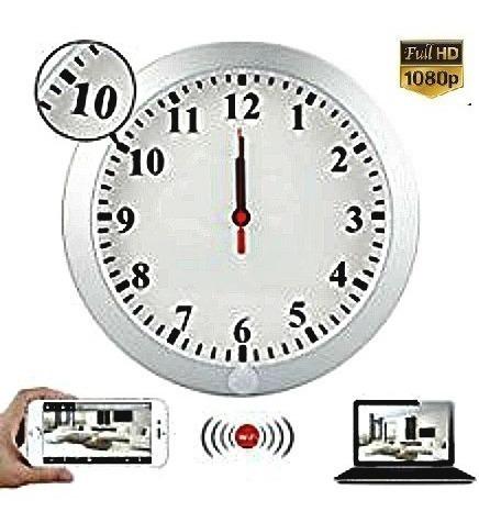 cámara seguridad reloj espía oculta + tarjeta 32gb combo