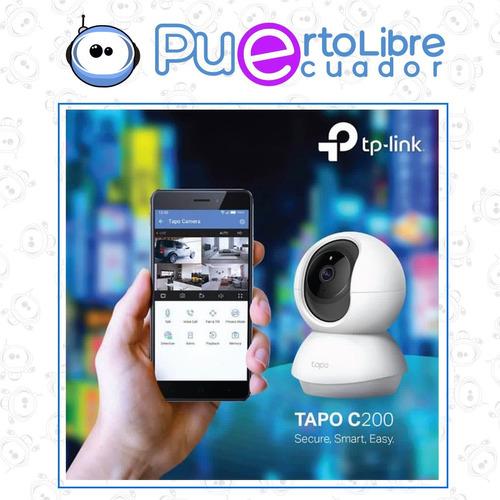 cámara seguridad tp-link ip rotatoria 360 robotica fhd wifi