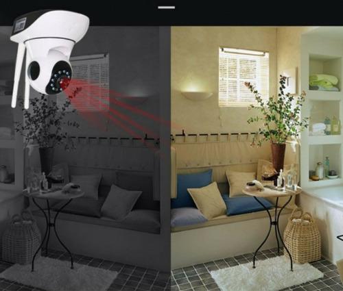camara seguridad wifi 720p rotativa