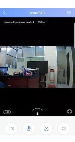 cámara seguridad wifi/ip/lan/contra agua