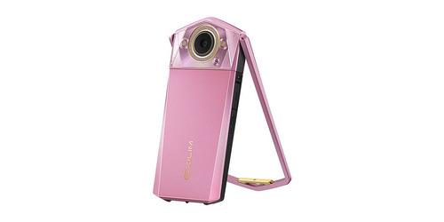 camara selfie casio exilim ex-tr80 11.1mp rosa