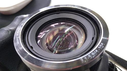 cámara semi-pro sony cybershot dsc-h200 detalles mínimos.