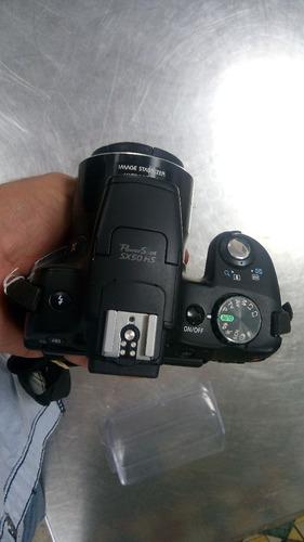 camara semi profecional camara canon power shot sx50 hs