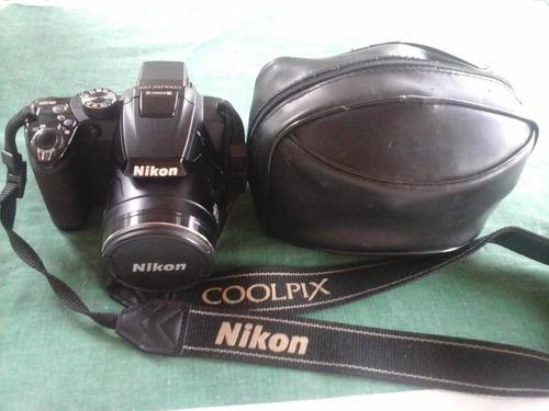 camara semi profesional nikon cool pix p500