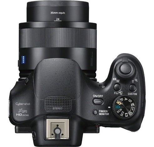 cámara semi profesional sony de 20.4mp y hi-zoom-dsc-hx400v