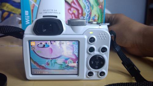 camara semiprofesional agfaphoto  select 14 mp
