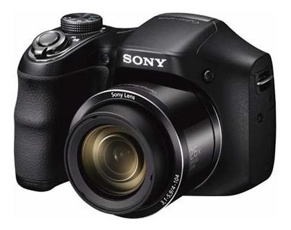 cámara  semiprofesional marca sony cyber-shot h-200