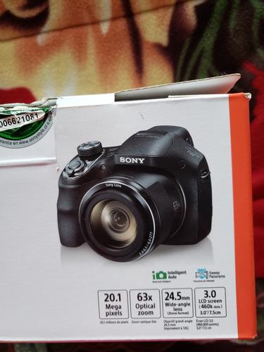cámara semiprofesional sony h400 + bolso + tarjeta sd 32gb