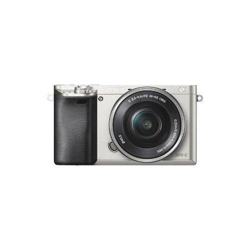 cámara sin espejo a6000 alfa con la lente 16-50mm retráctil